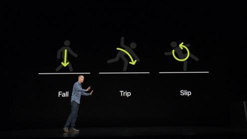 ef2d7963d هناك ايضاً مقياس جيروسكوب مقوم من الجيل التالي، يسمح لـ Apple Watch باكتشاف  السقوط، وعند اكتشاف السقوط ، سترسل ساعة Apple Watch تنبيهًا يطلب منك  الاتصال ...