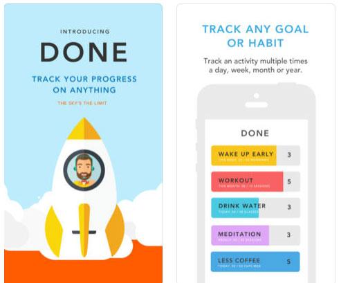 تطبيق Done لبناء عادات متميزة
