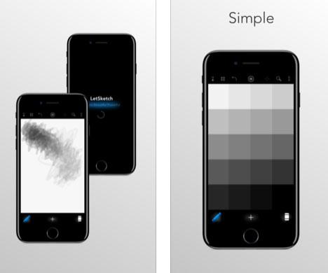تطبيق LetSketch للرسم بسهولة