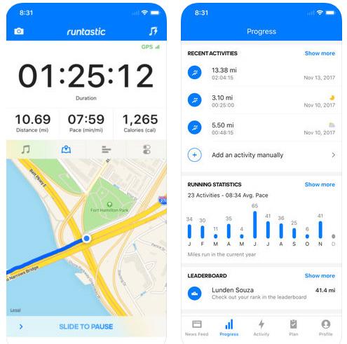Runtastic GPS Running App - تطبيق رياضي مميز!