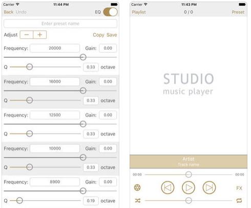 تطبيق Studio Music Player - مشغل صوتيات احترافي!