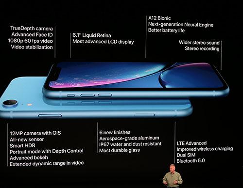 ملخص مواصفات هاتف iPhone XR