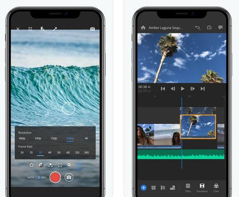 تطبيق Adobe Premiere Rush CC - أفضل برامج التقاط وتعديل الفيديو!
