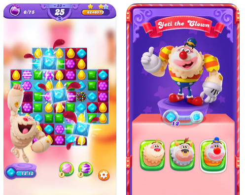 لعبة Candy Crush Friends Saga الجديدة