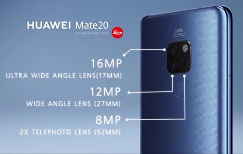 كاميرا Huawei Mate 20