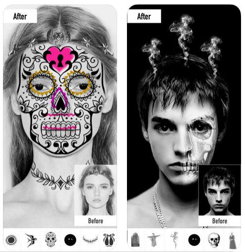 تطبيق Morph Booth للتلاعب بالصور وتحويلها إلى أشكال مرعبة، مجاني!