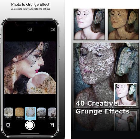 تطبيق PhotoJus Grunge FX Pro - تأثيرات احترافية لصورك!