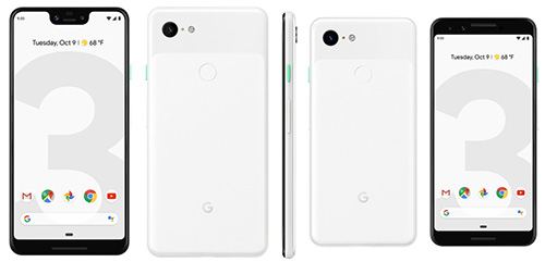 هواتف جوجل بكسل 3 وبكسل 3 XL الجديدة