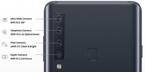 لماذا أربعة كاميرات في Galaxy A9 (2018) ؟