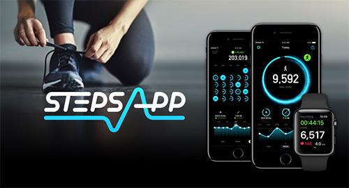 تطبيق StepsApp - تطبيق مميز لتتبع نشاطك الرياضي وحساب خطواتك، للآيفون والأندرويد!