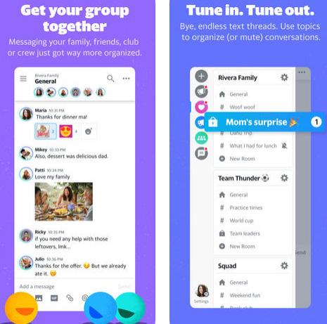تطبيق Yahoo Together - ياهو ماسنجر يُبعث من جديد!