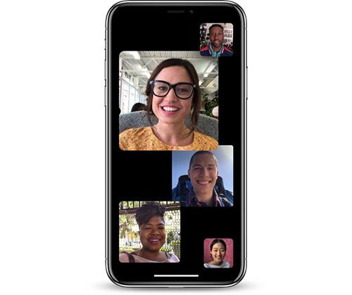 مكالمات FaceTime الجماعية