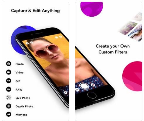 تطبيق infltr محرر الصور والفيديو