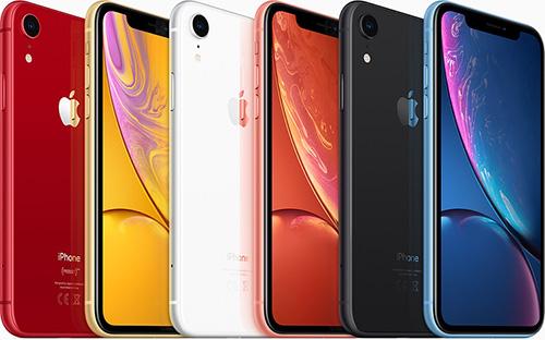 يتوفر هاتف iPhone XR بستة ألوان متميزة