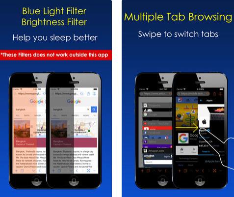 Dark Night Browser المتصفح الليلي