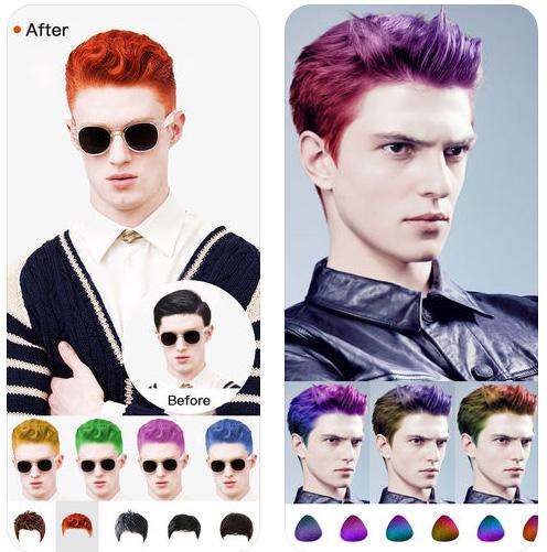 تطبيق Hair Style Salon لتغيير وتعديل قصات وتصفيفات الشعر على صورتك الحقيقية!