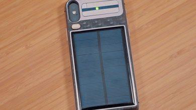 Photo of شاهد – آيفون X يعمل بالطاقة الشمسية وبسعر 4400 دولار أمريكي!
