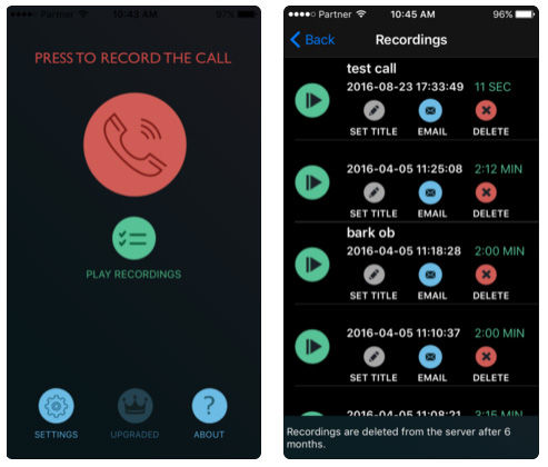 تطبيق CallRec Pro لتسجيل المكالمات على الآيفون، مهم ومطلوب!