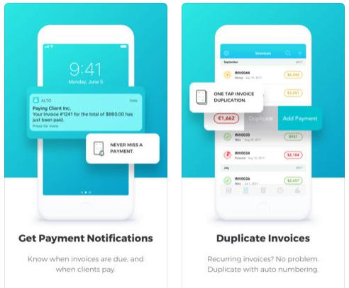 تطبيق Invoice لإنشاء الفواتير بسهولة