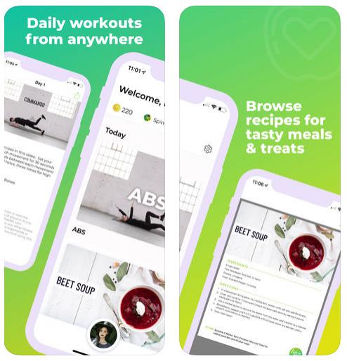 تطبيق It Works! LiveFit للياقة البدنية والغذاء الصحي