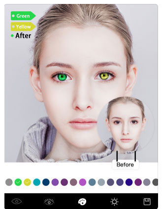 تطبيق Magic Eye Color