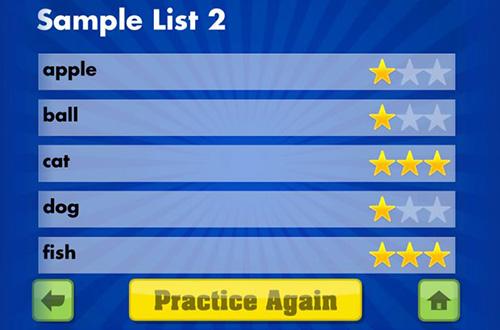 تطبيق Spelling Star لتعلم هجاء الإنجليزية