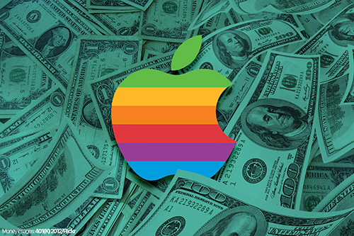 القيمة السوقية لآبل تخطت تريليون دولار!