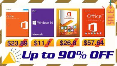 Photo of مايكروسوفت ويندوز وأوفيس وأشهر الألعاب بأرخص الأسعار على الإطلاق!