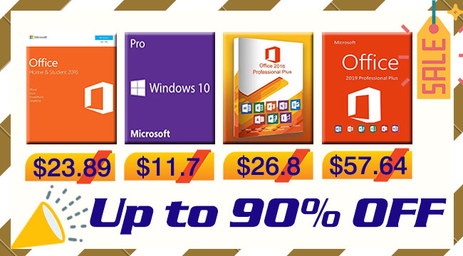 مايكروسوفت ويندوز وأوفيس وأشهر الألعاب بأرخص الأسعار على الإطلاق!