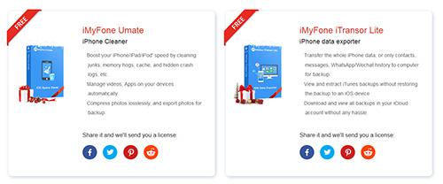 احصل مجاناً على برامج iMyFone لتنظيف وإدارة الآيفون
