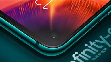Photo of رسمياً – سامسونج Galaxy A8s أول هاتف بكاميرا ذات ثقب في الشاشة!