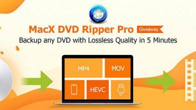 احصل مجاناً على برنامج MacX DVD Ripper Pro لنسخ الأقراص المحمية وتحويل مقاطع الفيديو!