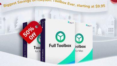 خصومات وعروض حصرية على برامج iSkysoft Toolbox المميزة لإدارة أجهزة الآيفون والأندرويد!