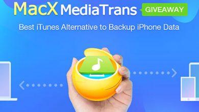 برنامج MacX MediaTrans لنقل وإدارة ملفات الآيفون والآيباد - نسخ مجانية وسحب على هدايا قيمة!