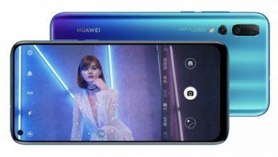 صورة رسمياً – إطلاق Huawei nova 4 بكاميرا خلفية 48MP وأخرى أمامية 25MP داخل الثقب!