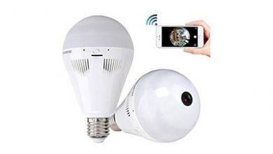 صورة عرض خاص – الكاميرا الليلية اللاسلكية الرائعة 960P Bulb Lamp بسعر خاص!