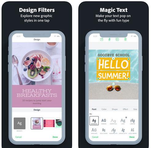 تطبيق Adobe Spark Post لعمل تصميمات رائعة بسهولة