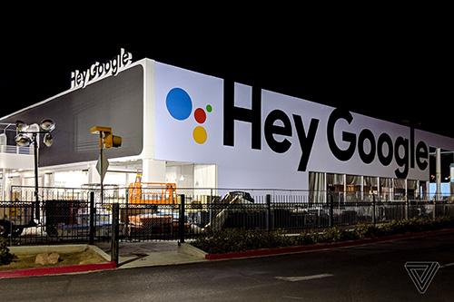 دعايات لجوجل في لاس فيغاس مع مؤتمر CES 2019