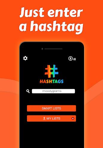 تطبيق Hashtags لإنستاغرام