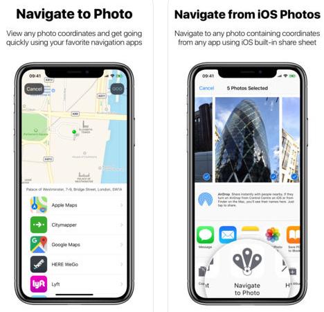 تطبيق Navigate to Photo - استخدم الصور للملاحة!