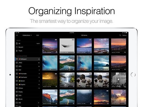 تطبيق Pixave لتنظيم وترتيب الصور (للآيباد)