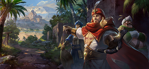 لعبة أبطال الشرق
