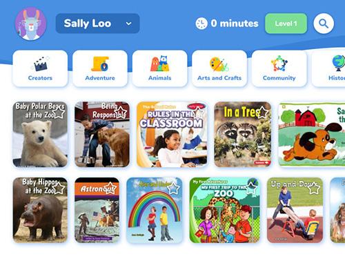 تطبيق Rivet كتب مجانية للأطفال