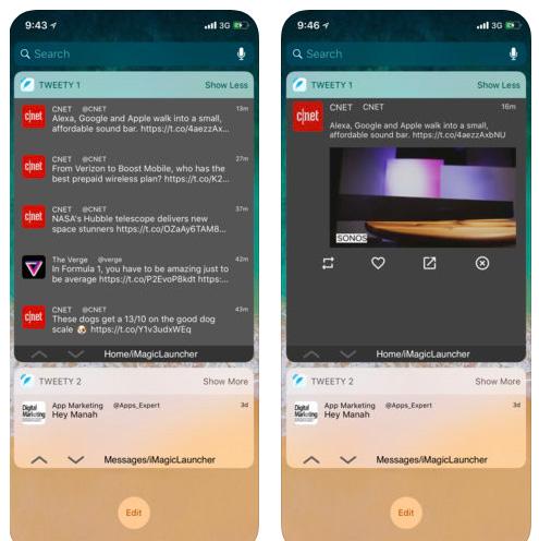 تطبيق Tweety Pro Widgets - ويدجت لتويتر