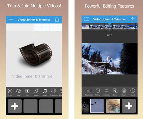 تطبيق Video Joiner & Trimmer Pro - لتحرير الفيديو