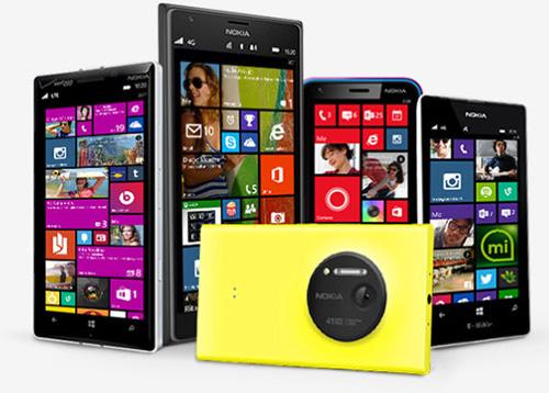 هواتف نوكيا لوميا بنظام ويندوز فون