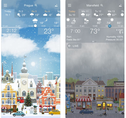 تطبيق YoWindow Weather