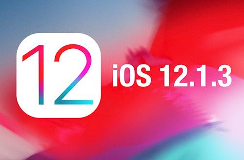 آبل تطلق رسمياً تحديث iOS 12.1.3 للجميع!