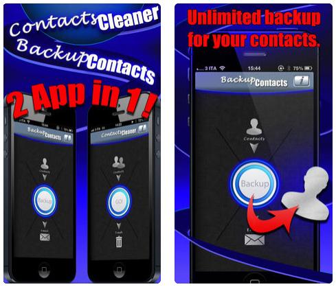 تطبيق Backup Contacts Pro لنسخ جهات الاتصال