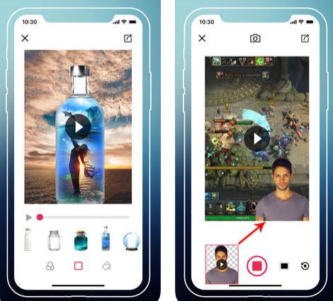 تطبيق Cut Me In Video المميز لتحرير الفيديو وإزالة الأشخاص وتغيير الخلفية داخل الفيديو، مجاني!